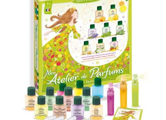 Mon atelier des parfums - Fleurs fraiches
