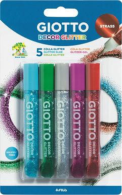 5 stylos gel pailleté!