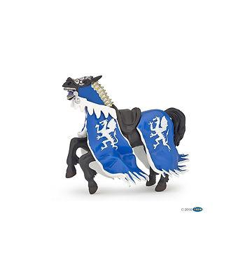 Cheval du roi au dragon bleu