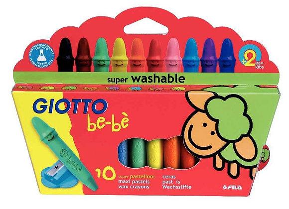 10 crayons de cire