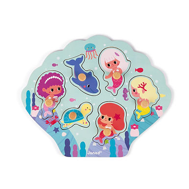 Puzzle Happy mermaids 07098