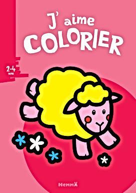 Le mouton - Coloriage