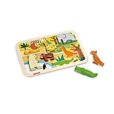 Puzzle chunky zoo