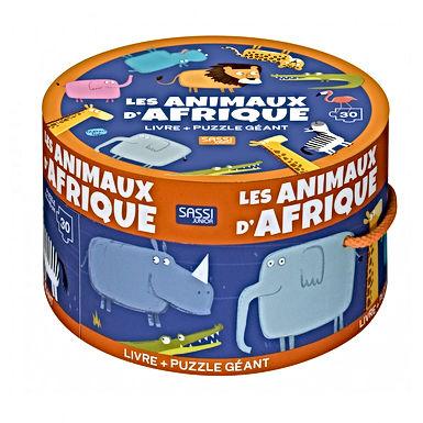 Puzzle géant - Les animaux d'Afrique