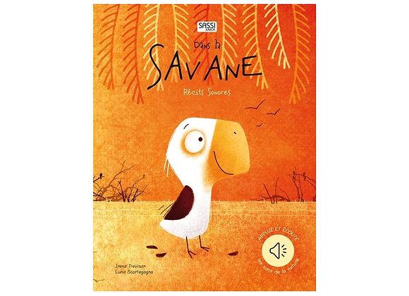 Livre sonore - La savane