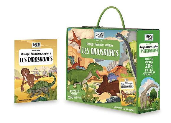 Voyage, découvre et explore les dinosaures