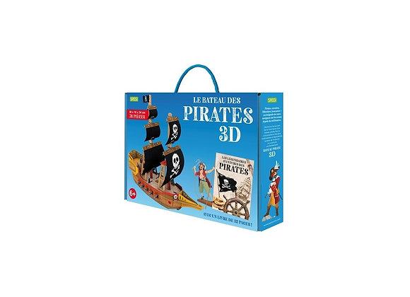 Bateau pirate 3D