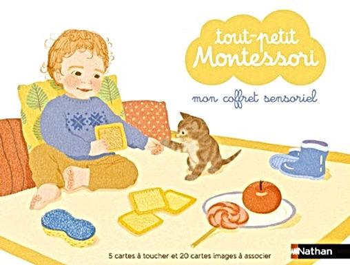 Mon coffret sensoriel- Tout petit Montessori