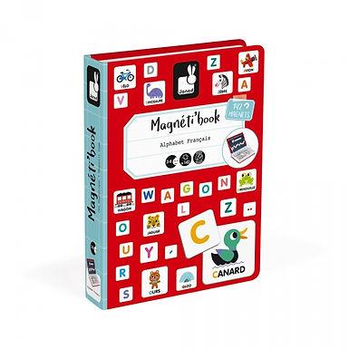 Magnetibook J'apprend l'alphabet - 02711