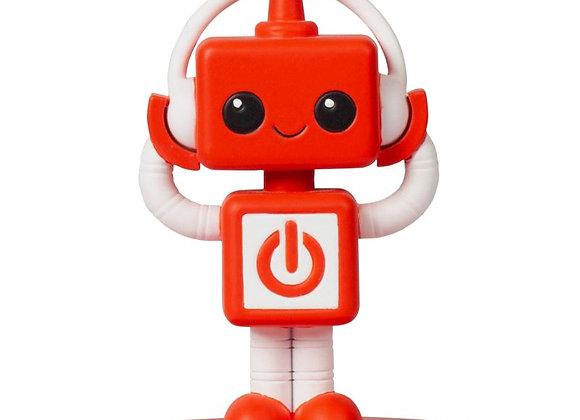 Figurine FABA - Robot - Faba Me rouge