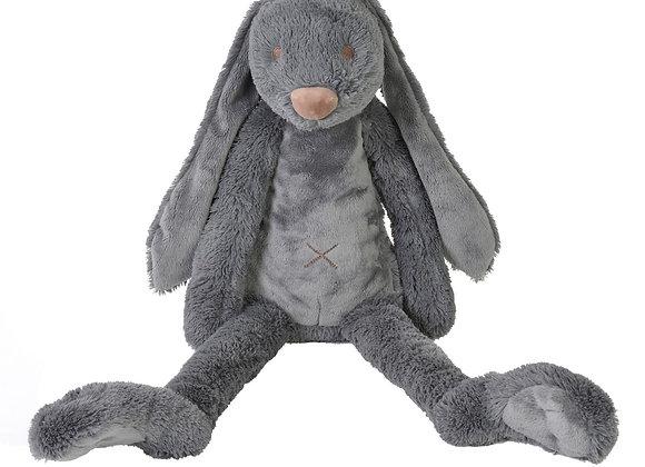Grand lapin Richie gris foncé