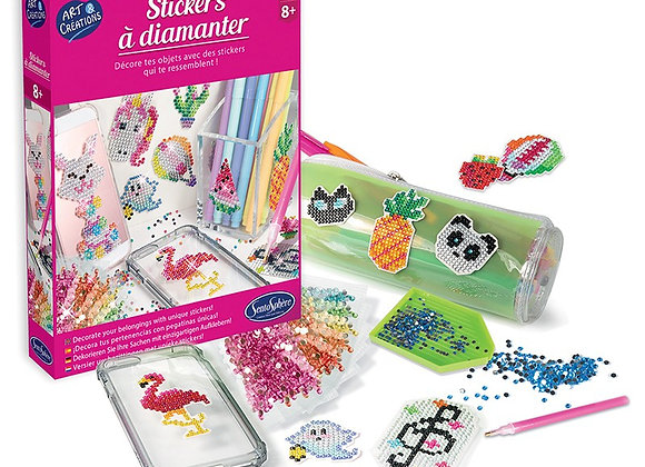 Art et création - Stickers à diamanter