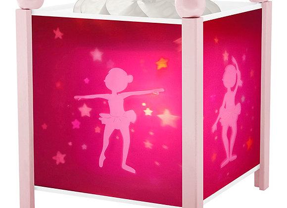 Lanterne Magique Ballerine rose