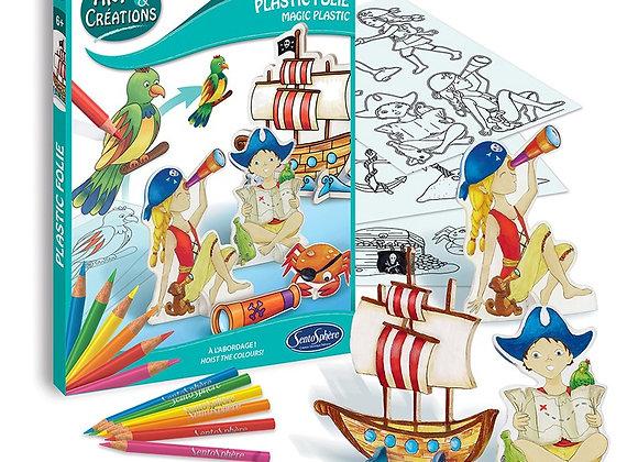 plastic folie pirates