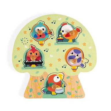 Puzzle musical les oiseaux 07092