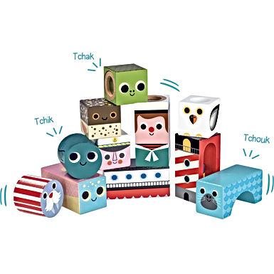 Cubes sonores - La mer