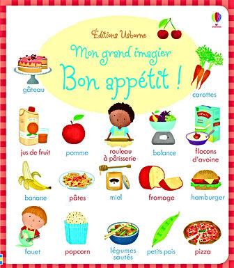 Mon grand imagier - Bon appétit