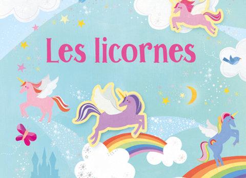 Licornes - Mes premiers autocollants
