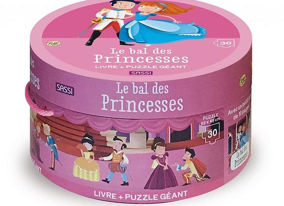 Puzzle géant - Le bal des princesses