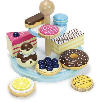 La ronde des desserts.