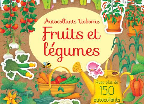 Fruits et légumes - Mes premiers autocollants