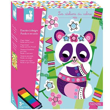Set créatif Encrier à Doigts Panda et ses amis- 07812