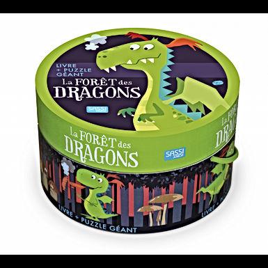 Puzzle géant - La forêt des dragons