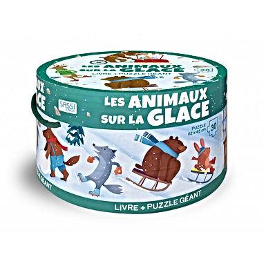 Puzzle géant - Les animaux sur la glace