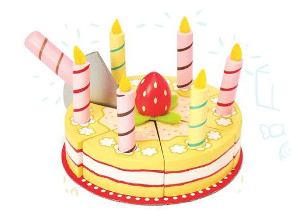 Gâteau anniversaire Vanille
