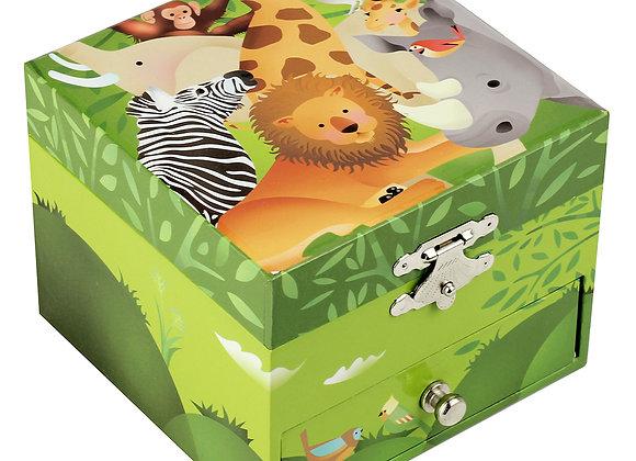 Coffret musique cube Jungle