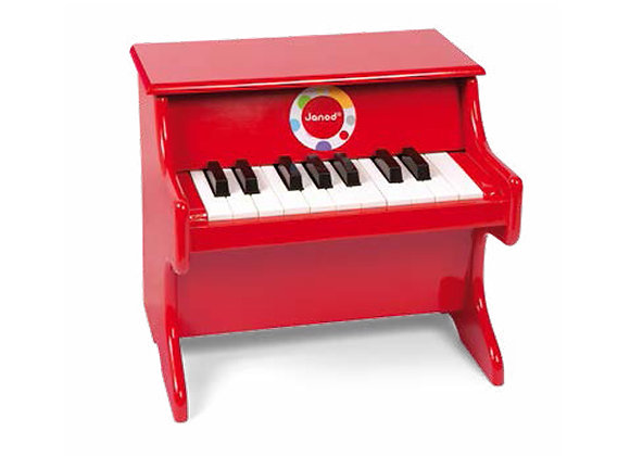 Piano rouge