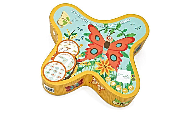 Coffret jeu 3 en 1 papillon