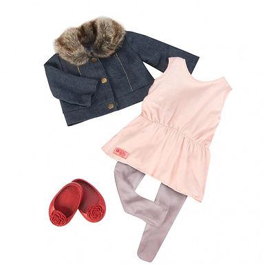 Tenue classique - Tunique et veste jean BD30212Z