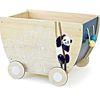Chariot à jouets - sous la canopée