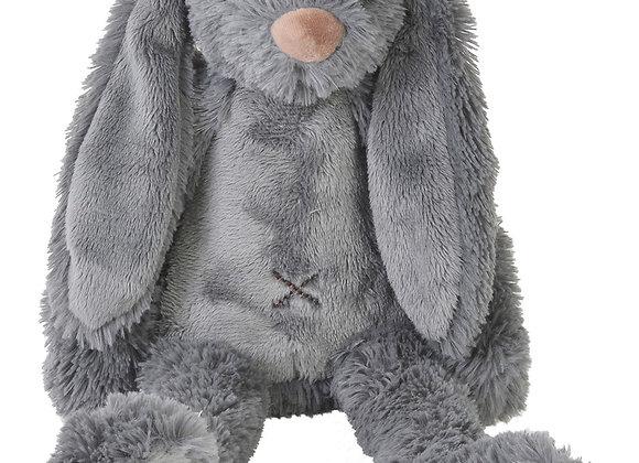 Petit lapin Richie gris foncé