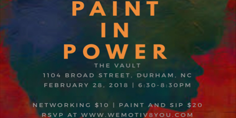 Black History Month Paint in Power