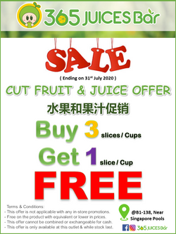 365 Juices Bar, North Wing #B1-138