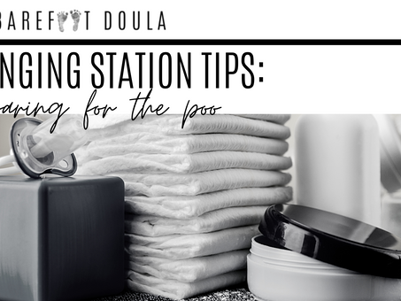 Changing Station Tips: Preparing for the poo..