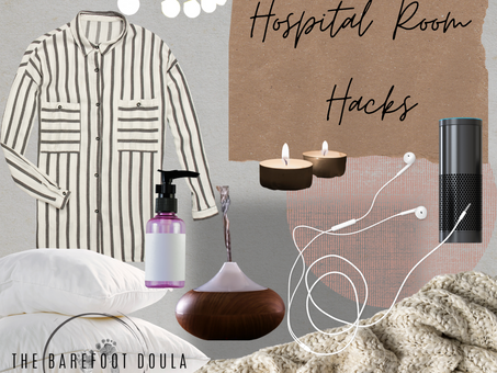 Comfy, cozy, relaxed.  How to make your hospital room feel more like home.