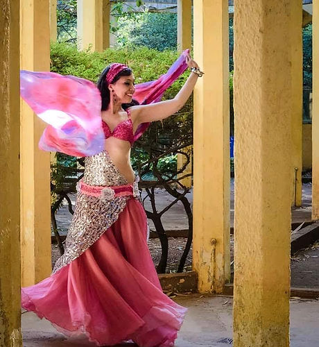 Priscila Genaro Formação em Dança do Ven