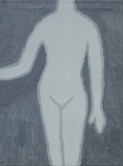 Figure 1, oil on canvas, 60cm x 81cm, 2019