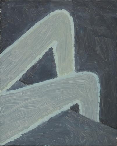 Night, oil on canvas, 80cm x 65cm, 2018