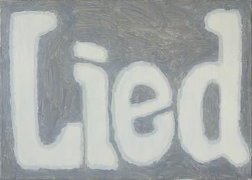 Lied, oil on canvas, 81cm x 60cm, 2018