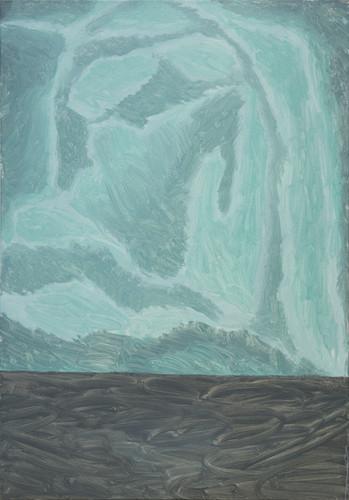 Resentment, oil on canvas, 73cm x 100cm, 2018