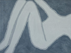 Figure 4, oil on canvas, 81cm x 60cm, 2019