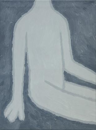 Figure 3, oil on canvas, 60cm x 81cm, 2019
