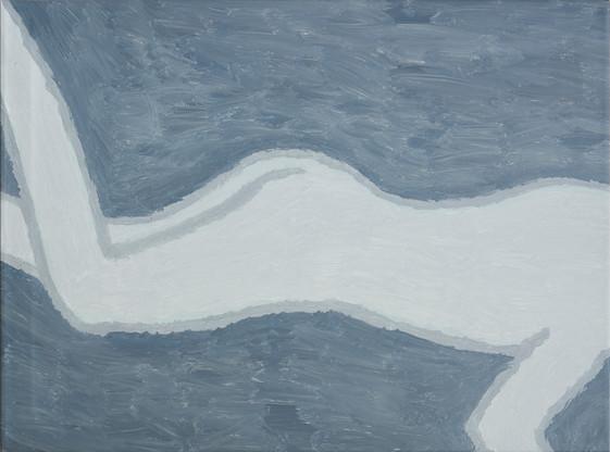 Figure 5, oil on canvas, 81cm x 60cm, 2019