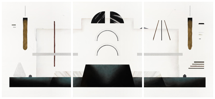 El espacio alrededor. 190 x 411 cm. 2015
