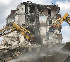 The Lawns demolition