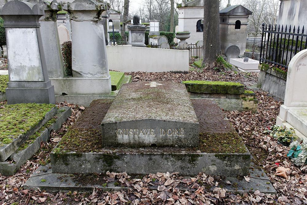 Gustave Doré's grave